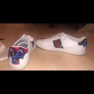 Gucci Ace Embroidered Sneakers (Women's)